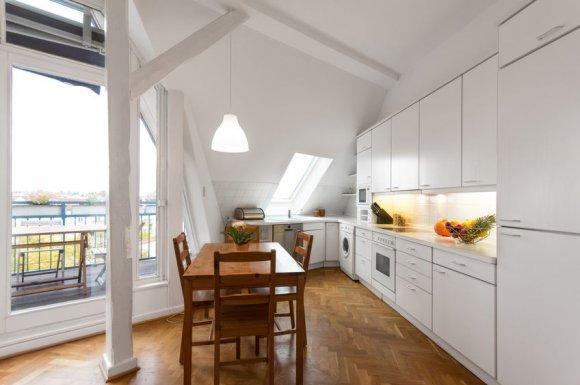 Concepteur de cuisine sur mesure dans maison neuve à Evian-les-Bains