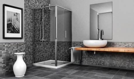 Conception et création de salle de bain clé en main à Annecy