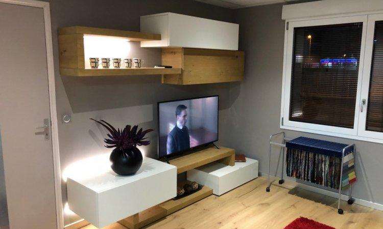conception de meuble tv à Annecy