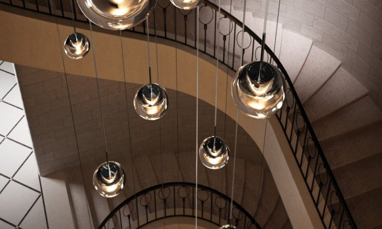 luminaire design show room  mood inside à Seynod