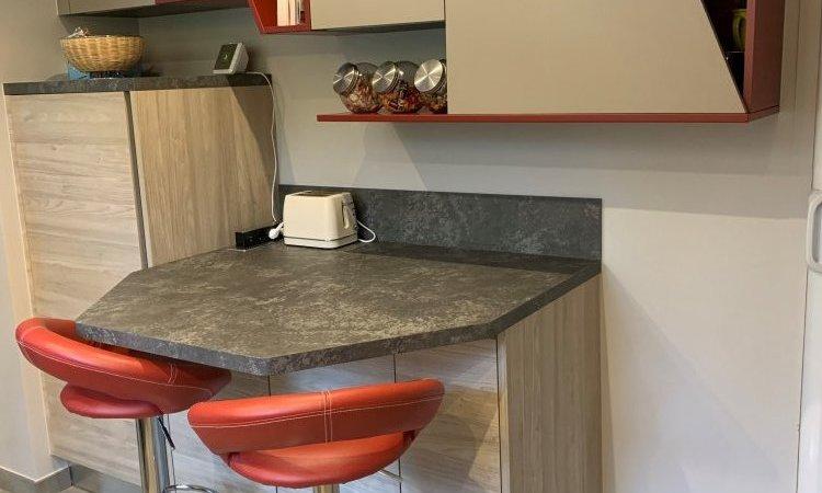 conception et installation cuisine sur mesure à Annecy